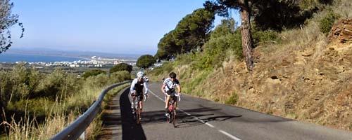 Circuit vélo sur Platja d'Aro