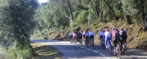 Parcours vélo sur l'Estartit