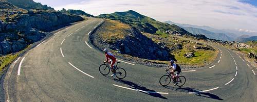 Vélo à l'assaut des Pyrénées