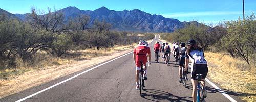Séjour vélo au départ de Tucson