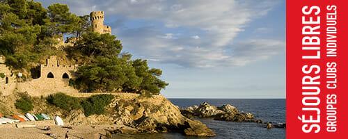 <b>Séjours libres à Lloret de Mar, Espagne</b> <br/><small>Toute l'année</small>