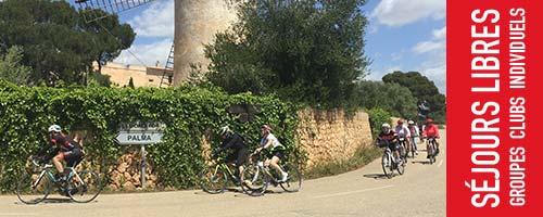 Séjours vélo libre à Palma de Majorque