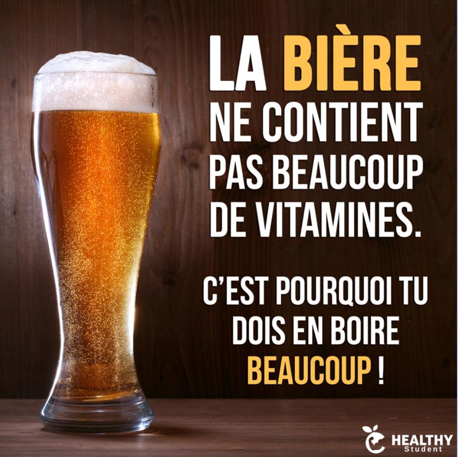 La Bière et le vélo…